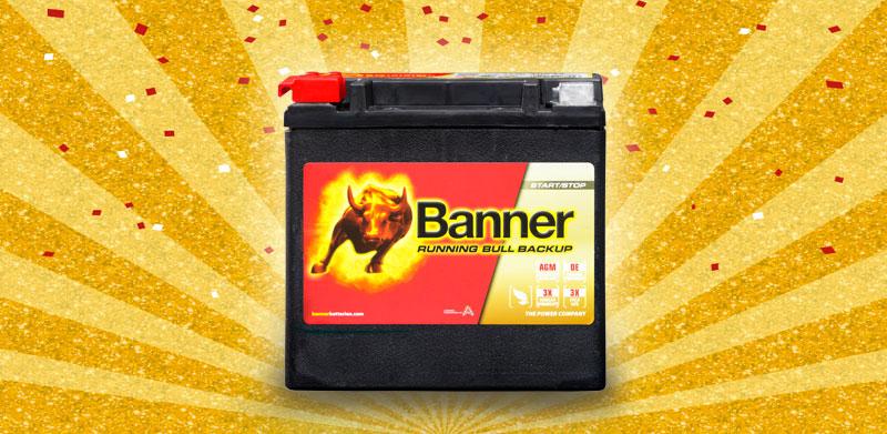 Banner 歐系機車電池